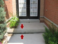 Leveling Sidewalks using Mudjacking