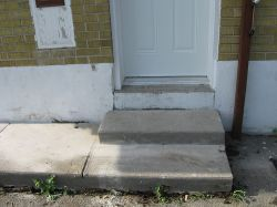 Concrete Stairs Mudjacking